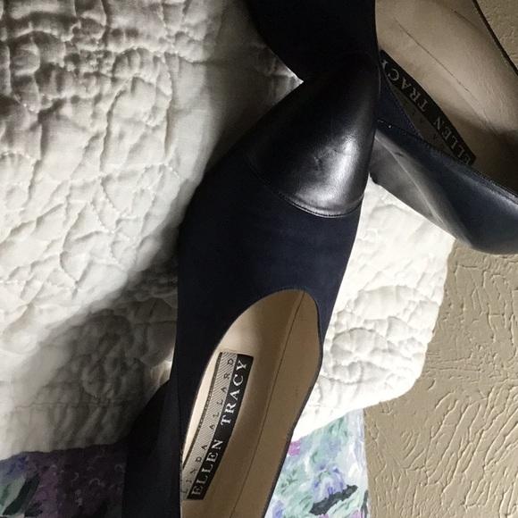 20b53c48a017 Ellen Tracy Shoes - Navy Blue Pumps 3 for  20 deal